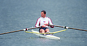 Tampere Kaukajaervi,  FINLAND. Single Sculls World Champion.  CZE M1X.  Vaclav CHALUPA, competing at the 1995 World Rowing Championships - Lake Tampere, 08.1995<br /> <br /> [Mandatory Credit; Peter Spurrier/Intersport-images] Re-Edited and file ref No. updated, 16th January 2021.