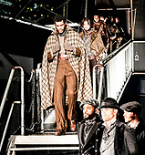 Joseph Abboud show, Front Row, Fall Winter  New York Fashion Week Men's, USA