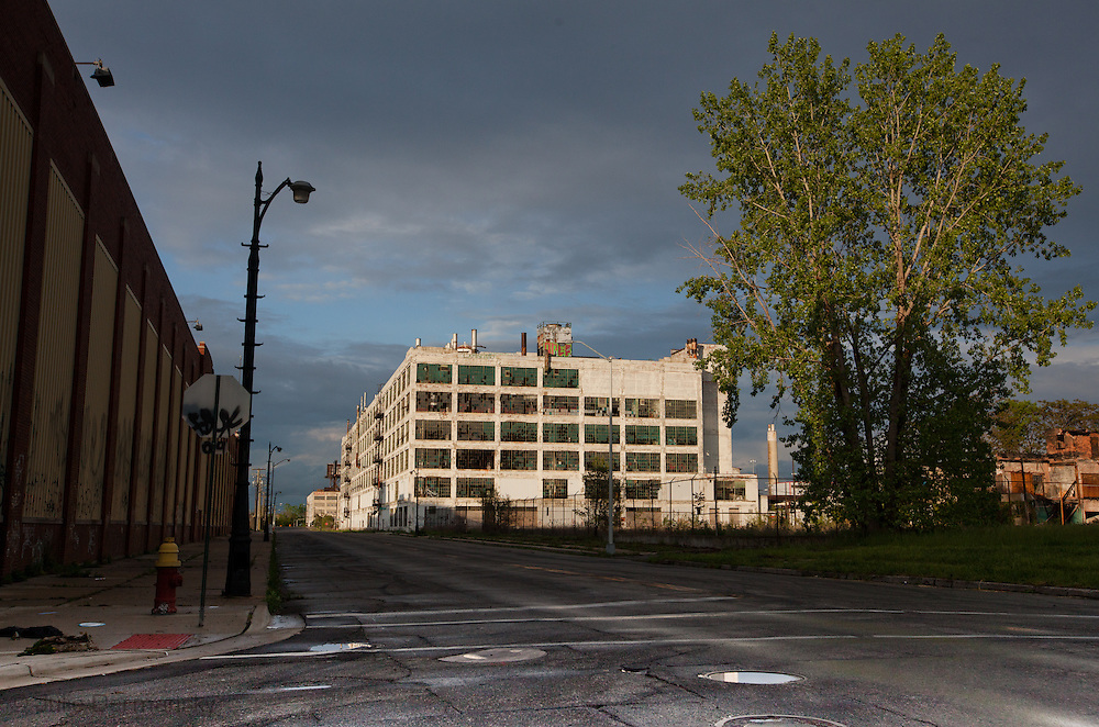 The Adandoned Fischer Factory where car parts used to be fabricated for GM.  Fischer Factory where car parts used to be fabricated for GM.