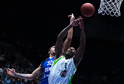 November 8, 2017 - Saint Petersburg, Russia - Drew Gordon of Zenit St. Petersburg (L) and Raymar Morgan of Tofas Bursa vie for the ball during the EuroCup Round 5 regular season basketball match between Zenit St. Petersburg and Tofas Bursa at the Yubileyny Sports Palace in St. Petersburg, Russia, November 08, 2017. (Credit Image: © Igor Russak/NurPhoto via ZUMA Press)