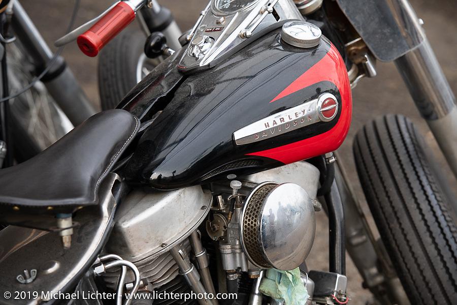 Harley-Davidson Panhead at Ken Kentaro's Hot Chop Speed Shop in Kyoto, Japan. Friday, December 7, 2018. Photography ©2018 Michael Lichter.Cool bikes at Ken Kentaro's Hot Chop Speed Shop in Kyoto, Japan. Friday, December 7, 2018. Photography ©2018 Michael Lichter.