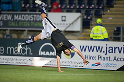 Falkirk's Will Vaulks cele scoring their second goal. <br /> Falkirk 4 v 1 Fraserburgh, Scottish Cup third round, played 28/11/2015 at The Falkirk Stadium.