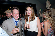 WILL FISHER; ROSE UNIAKE, Pimlico Road party. 22 June 2010. -DO NOT ARCHIVE-© Copyright Photograph by Dafydd Jones. 248 Clapham Rd. London SW9 0PZ. Tel 0207 820 0771. www.dafjones.com.