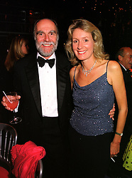 VISCOUNT & VISCOUNTESS COWDRAY at a ball in West Sussex on 18th September 1999.MWL 75