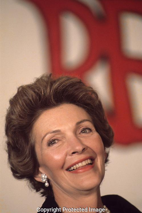 Nancy Reagan in January 1976..Photograph by Dennis Brack BB31