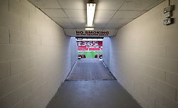 General view of the tunnel inside the ground