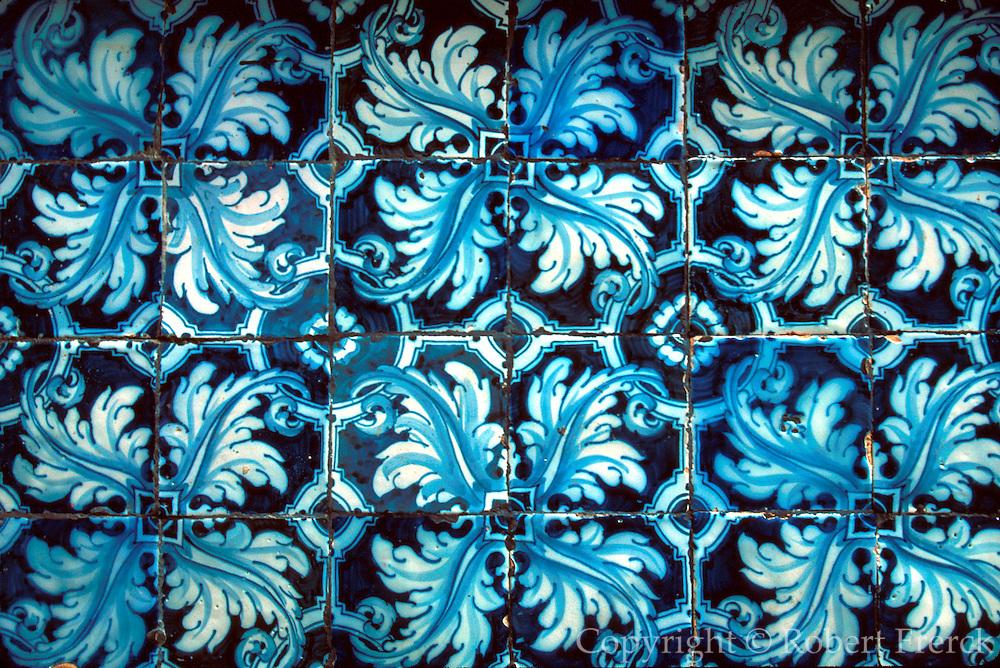 SPAIN, CASTILE, SEGOVIA Alcazar Castle; Ferdinand and Isabel; tiles
