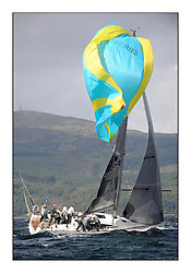 Brewin Dolphin Scottish Series 2011, Tarbert Loch Fyne - Yachting - Day 2 of the 4 day series. Windy!.GBR1952L ,Animal ,Debbie Aitken ,CCC/RNCYC ,Elan 380..
