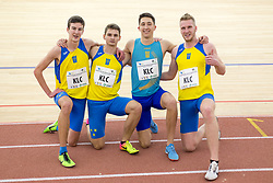 Kladivar Celje team during day 2 of Slovenian Athletics Indoor Championships 2020, on February 23, 2020 in Novo mesto, Slovenia. Photo by Peter Kastelic / Sportida