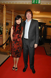 JULIAN LLOYD WEBBER and his girlfriend  at the South Bank Show Awards held at The Dorchester, Park Lane, London on 29th January 2008.<br />
