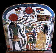 Stele of Lady Taperet  Third Intermediate Period, 22nd Dynasty, 10th or 9th century BC  Painted wood