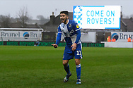 Luke Leahy (11) of Bristol Rovers during the EFL Sky Bet League 1 match between Bristol Rovers and Blackpool at the Memorial Stadium, Bristol, England on 15 February 2020.