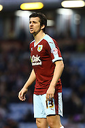 Joey Barton of Burnley looks on. Skybet football league Championship match, Burnley v Ipswich Town at Turf Moor in Burnley, Lancs on Saturday 2nd January 2016.<br /> pic by Chris Stading, Andrew Orchard sports photography.