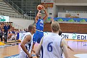 TRENTO, 25/07/2012<br /> TRENTINO BASKET CUP 2012<br /> ITALIA - FINLANDIA<br /> NELLA FOTO: LUIGI DATOME<br /> FOTO CIAMILLO
