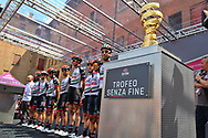 Presentation UAE Team Emirates during the 101th Tour of Italy, Giro d'Italia 2018, stage 13, Ferrara - Nervesa della Battaglia 180 km on May 18, 2018 in Italy - Photo Ilario Biondi / BettiniPhoto / ProSportsImages / DPPI