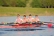 Race: 117  Event: Challenge 4+  Final<br /> <br /> Wallingford Regatta 2018<br /> <br /> To purchase this photo, or to see pricing information for Prints and Downloads, click the blue 'Add to Cart' button at the top-right of the page.