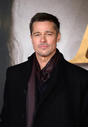 Brad Pitt attending the UK premiere of Allied, held at the Odeon Cinema in Leicester Square, London.<br />Photo credit should read Doug Peters/EMPICS Entertainment
