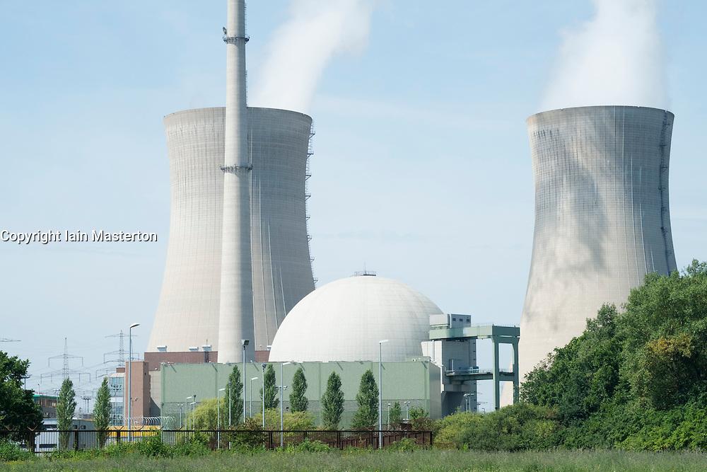 Grafenrheinfeld nuclear power station in Germany