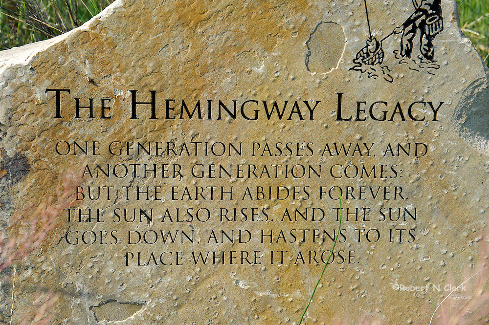 Hemingway Memorial at Silver Creek Preserve