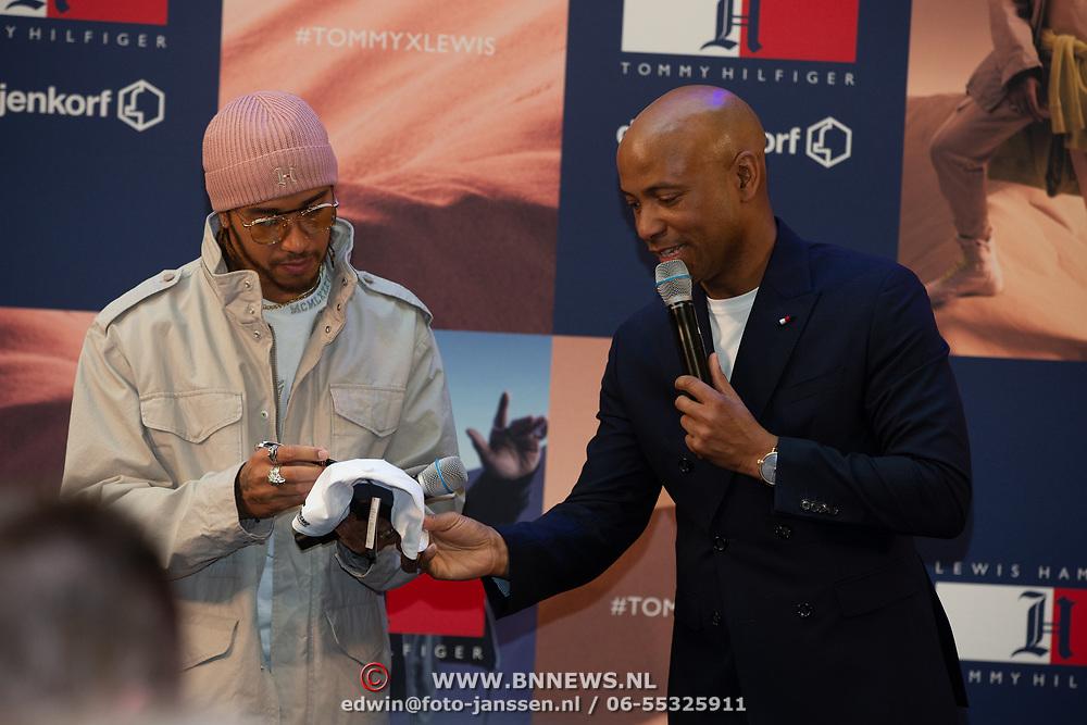 NLD/Amsterdam/20200229 - Lewis Hamilton lanceert de kledinglijn TommyXLewis, Lewis Hamilton en Humberto Tan
