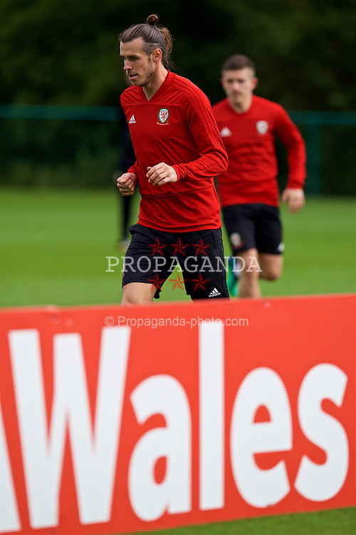 CARDIFF, WALES - Saturday, September 8, 2018: Wales' Gareth Bale during a training session at the Vale Resort ahead of the UEFA Nations League Group Stage League B Group 4 match between Denmark and Wales. (Pic by David Rawcliffe/Propaganda)