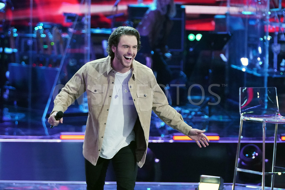 """THE VOICE  -- """"Knockout Rounds"""" Episode 2010 --  Pictured: Andrew Marshall -- (Photo by: Tyler Golden/NBC)"""