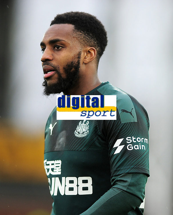 Football - 2019 / 2020 Premier League - Crystal Palace vs. Newcastle United<br /> <br /> Danny Rose of Newcastle, at Selhurst Park.<br /> <br /> COLORSPORT/ANDREW COWIE