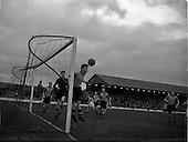 1953 - Shamrock Rovers v Evergreen United at Glenmalure Park