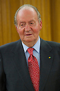 090313 King Juan Carlos attends an audience with Evo Morales