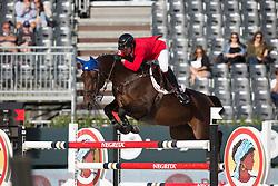 Ortiz Juan, (VEN), D'Ulien van de Smeets <br /> First Round<br /> Furusiyya FEI Nations Cup Jumping Final - Barcelona 2015<br /> © Dirk Caremans<br /> 24/09/15