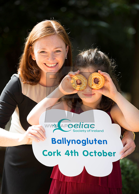 Repro Free: <br /> Grainne Denning, CEO of the Coeliac Society of Ireland is pictured with coeliac Liana Tallon, aged 8 at the launch of Ireland's first ever 100% Gluten Free Food Market which is taking place in the Silver Springs Moran Hotel Cork on 4 October. Entitled 'Ballynogluten', the food market is being organised by the Coeliac Society of Ireland, in association with Supervalu, as part of the organisation's annual 'National Convention' taking place that weekend, bringing together coeliacs from all over Ireland to interact in a fun environment to learn more about the disease, discover new gluten free products and engage with other members of the ever growing coeliac community in Ireland. Picture Andres Poveda<br /> <br /> For further details, please contact:<br /> Breda Brown / Niall McHugh<br /> Unique Media<br /> Tel: (01) 522 5200 or (087) 248 7120 (BB)
