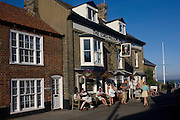 The Lord Nelson Inn at the Suffolk seaside town of Southwold, Suffolk.