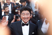 Kang-Ho Song, at the closing ceremony and The Specials film gala screening at the 72nd Cannes Film Festival Saturday 25th May 2019, Cannes, France. Photo credit: Doreen Kennedy