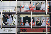 "Royal souvenirs are pictured in the window of a closed gift shop during the second coronavirus lockdown on 9th November 2020 in Windsor, United Kingdom. Only retailers selling ""essential"" goods and services are permitted to open to the public during the second lockdown."
