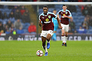 Tendayi Darikwa of Burnley in action. The Emirates FA cup 4th round match, Burnley v Bristol City at Turf Moor in Burnley, Lancs on Saturday 28th January 2017.<br /> pic by Chris Stading, Andrew Orchard Sports Photography.