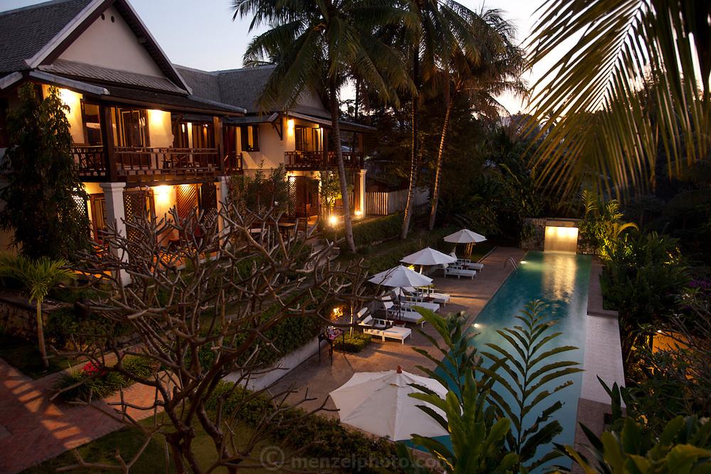 Mekong Estates rental property on the Mekong just south of Luang Prabang, Laos in Ban Saylom Village.
