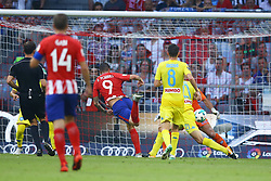 August 1, 2017 - Munich, Germany - Fernando Torres of Atletico de Madrid scoring the goal of 1-1 durign the first Audi Cup football match between Atletico Madrid and SSC Napoli in the stadium in Munich, southern Germany, on August 1, 2017. (Credit Image: © Matteo Ciambelli/NurPhoto via ZUMA Press)