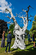 A Danish family study Ugo Rondinone's Summer Moon (2011) - The Frieze Sculpture Park 2017 comprises large-scale works, set in the English Gardens . The installations will remain on view until 8 Oct 2017.