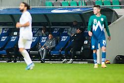 Matjaz Kek head coach of Slovenia  during friendly match between national teens of Slovenia and San Marino, October 7, 2020 in Stadium Stozice, Ljubljana, Slovenia. Photo by Grega Valancic / Sportida