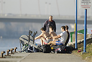 Seville. SPAIN, 16.02.2007. GBR coach, Pete SHEPHEAD, oversees a ergo  training session at the Seville Training Centre as athletes in prepare for the weekends - FISA Team Cup, [Photo Peter Spurrier/Intersprt Images]    [Mandatory Credit, Peter Spurier/ Intersport Images].   [Mandatory Credit, Peter Spurier/ Intersport Images]. , Rowing Course: Rio Guadalquiver Rowing Course, Seville, SPAIN,
