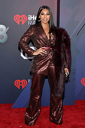 Ashanti attends the 2018 iHeartRadio Music Awards at the Forum on March 11, 2018 in Inglewood, California. Photo by Lionel Hahn/AbacaPress.com