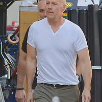 Bruce Willis - Die Hard 5 movie shooting