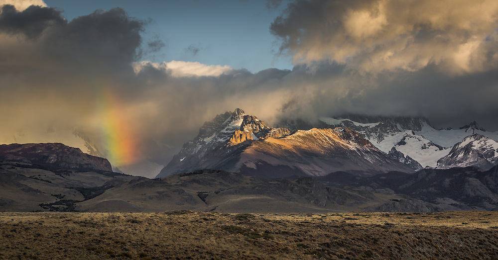 An unexpected sight cuaght my eye during an evening shoot at Los Glaciares National Park in Argentinian Patagonia.