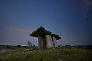 poulnabrone dolmen county clare Ireland, summer solstice 2021