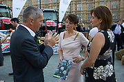 MP Jo Churchill at the National Farmers Union NFU took machinery, produce, farmers and staff to Westminster to encourage Members of Parliament to back British farming, post Brexit on 14th September 2016 in London, United Kingdom. MPs were encouraged to sign the NFU's pledge and wear a British wheat and wool pin badge to show their support.