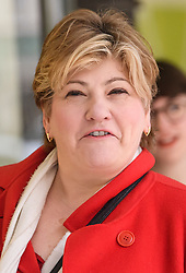 © Licensed to London News Pictures. 24/01/2020. London, UK. Labour Leadership candidate EMILY THORNBERRY is seen arriving for a Unite Union executive meeting in London, where Unite Union are expected to back a candidate in the Labour Party leadership election. Current leader Jeremy Corbyn announced he would step aside after Labour lost an 80 seat majority to the Conservatives in a general election. Photo credit: Ben Cawthra/LNP