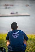 Linz, Austria, Saturday,  31st Aug 2019, FISA World Rowing Championship, Boat Park Area, [Mandatory Credit; Peter SPURRIER/Intersport Images]<br /> <br /> 08:31:49  31.08.19