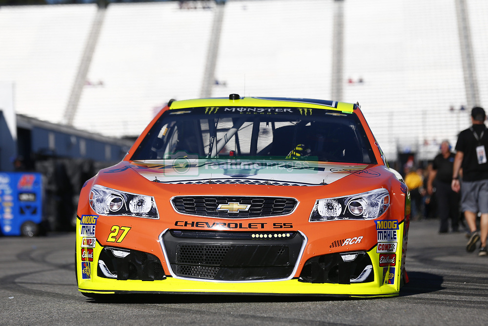 September 23, 2017 - Loudon, New Hampshire, United States of America - September 23, 2017 - Loudon, New Hampshire, USA: Paul Menard (27) takes to the track to practice for the ISM Connect 300 at New Hampshire Motor Speedway in Loudon, New Hampshire. (Credit Image: © Justin R. Noe Asp Inc/ASP via ZUMA Wire)