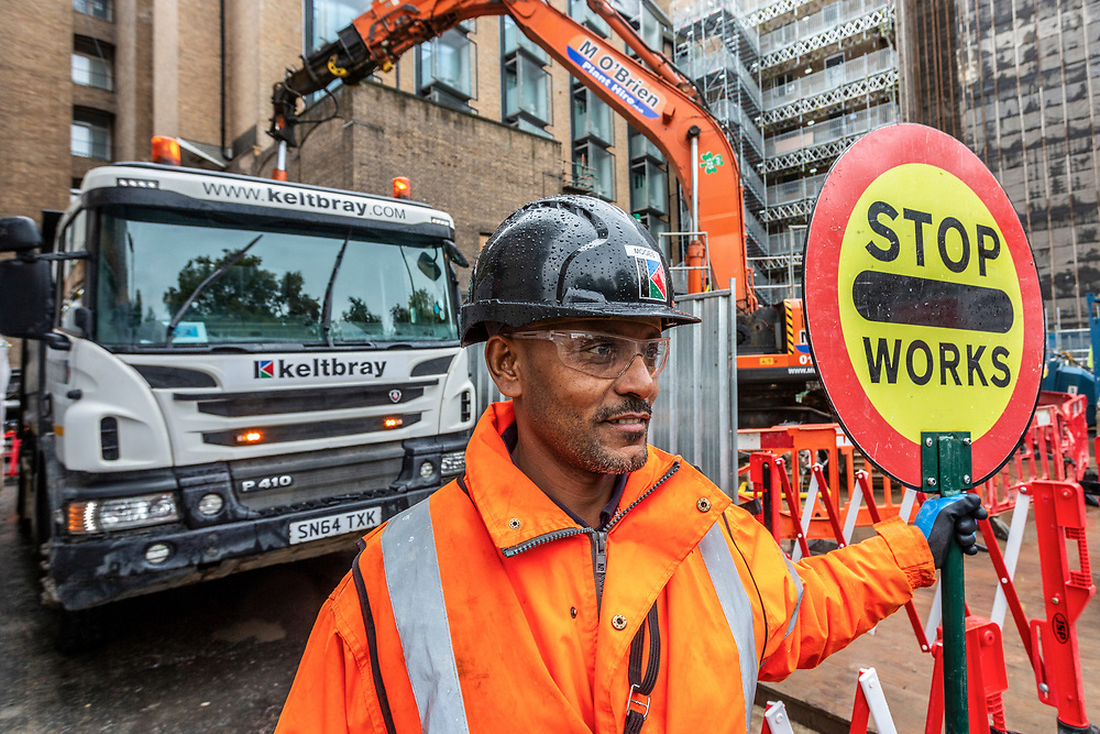 Construction Photographer London CSCS