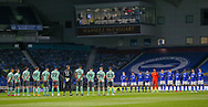Two minute silence In memory of Prince Philip  during the Premier League match between Brighton and Hove Albion and Everton at the American Express Community Stadium, Brighton and Hove, England UK on 12 April 2021.